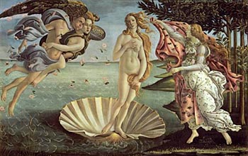 Botticelli | The Birth of Venus